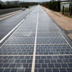 Estrada na França - Orbital Energia Solar - Satrix